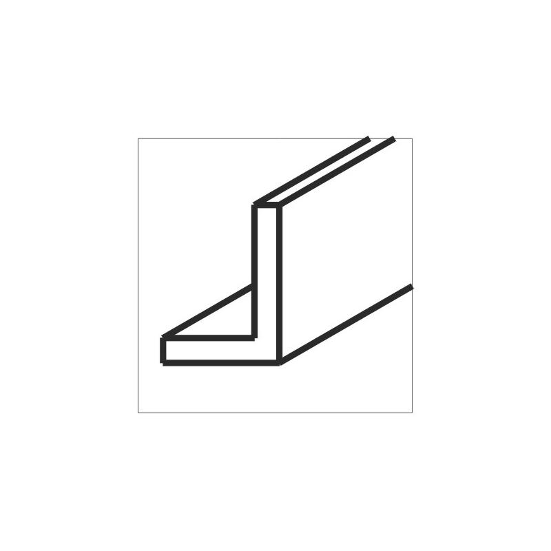 Clip angulaire pour tige filetée Type SPW - 8