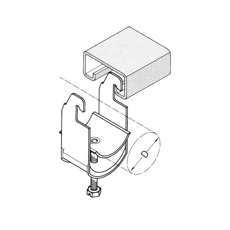 Kabelschelle Typ AC - 2