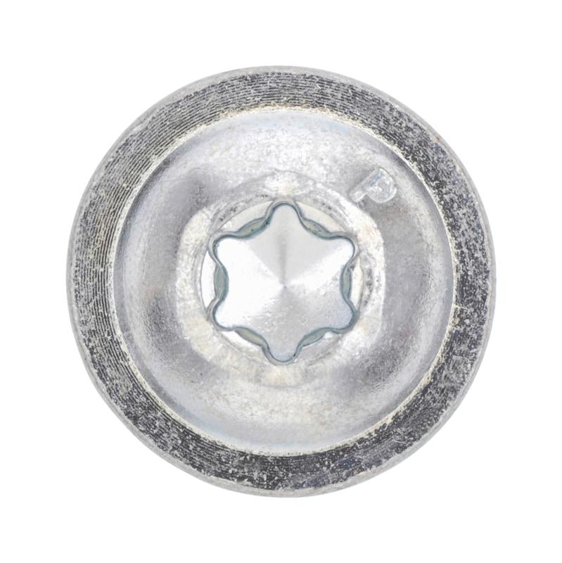 Vis autoperceuse à tête cylindrique bombée avec embase et empreinte&nbsp;AW pias<SUP>®</SUP> - 3