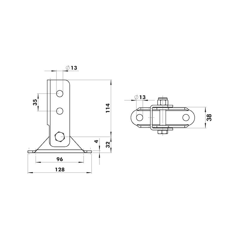 VARIFIX<SUP>®</SUP> Gelenkverbinder - C2C - GLKVERB-41