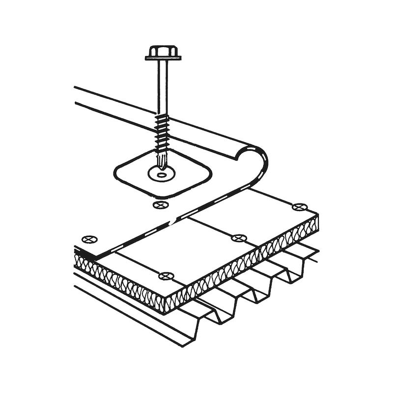 Vis pour construction de toit avec pointe de perçage pias<SUP>®</SUP> pias<SUP>®</SUP> - 3