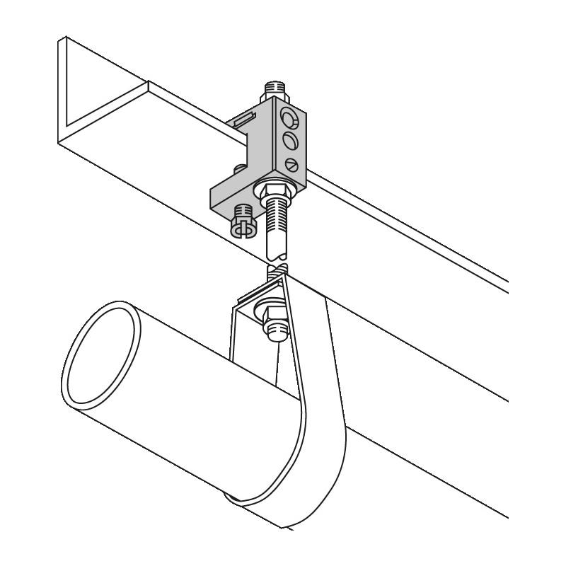 Crampon de fixation léger Type LCW - 3