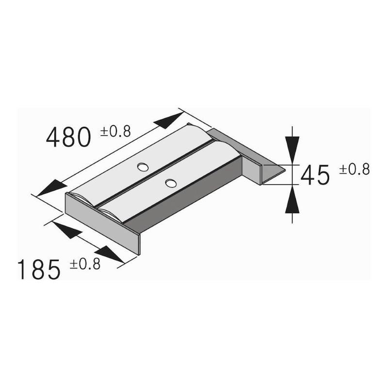 Folienhalter Tavinea Sorto Nova Pro Scala - FOLHALT-TAVINEA-(ESCHE-NATUR)-NL500