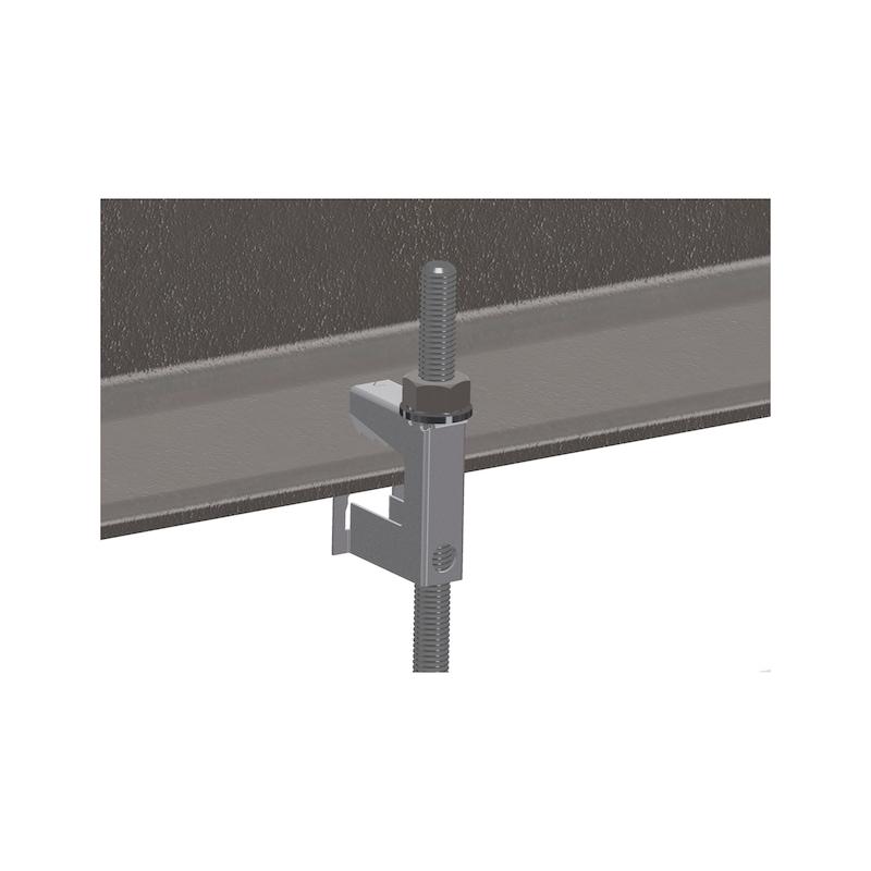 Grampo de suporte  Tipo LCT - GRAMPO RAPIDO LCT 2-8