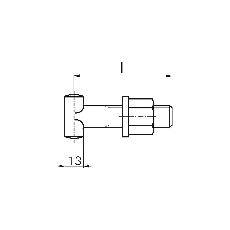 Gerüstbauschraube - 2