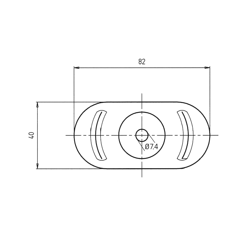 Teller für Dachbauschraube - 2