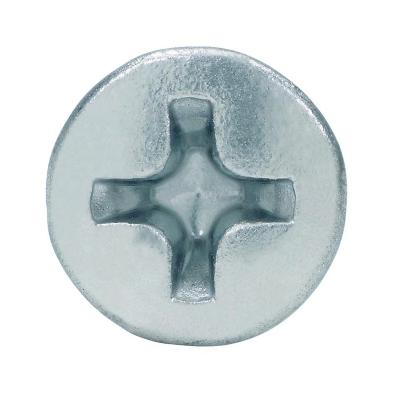 Fensterbauschraube selbstbohrend Linsensenkkopf FEBOS<SUP>® </SUP>M - SHR-BO-LISEKPF-H2-(A2K)-M4X20