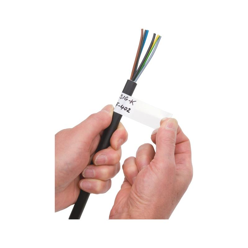 Beschriftbarer Kabelmarkierer - 1