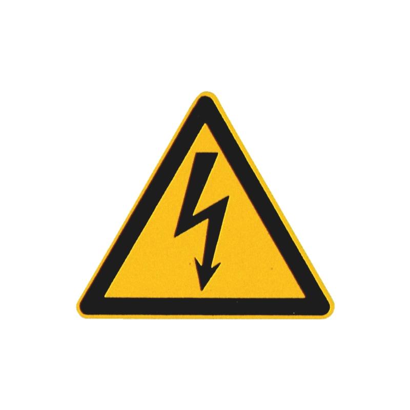 Sicherheits- und Warnschild - Gefährliche elektrische Spannung - 1