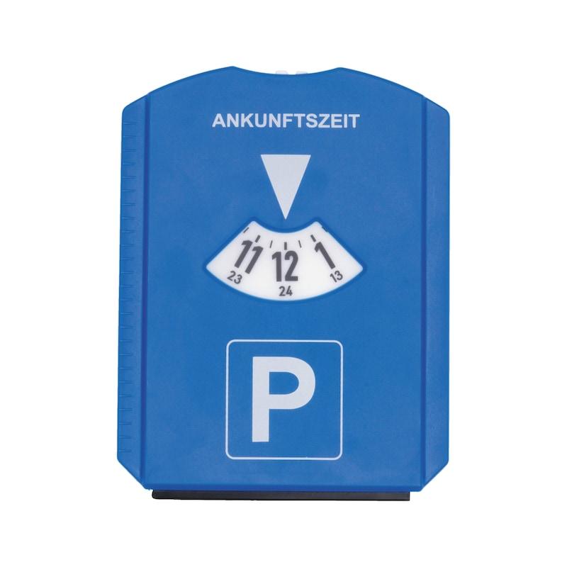 Disque de stationnement à grattoir à glace - PARKDISK-W.ICESCPR-W.CHIP-W.PRFLGAUGE