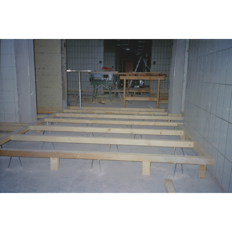 D-Anker Holzbauschraube - SHR-(D-ANK)-GWDKPF-AW25-(A2K)-4,5X80/36