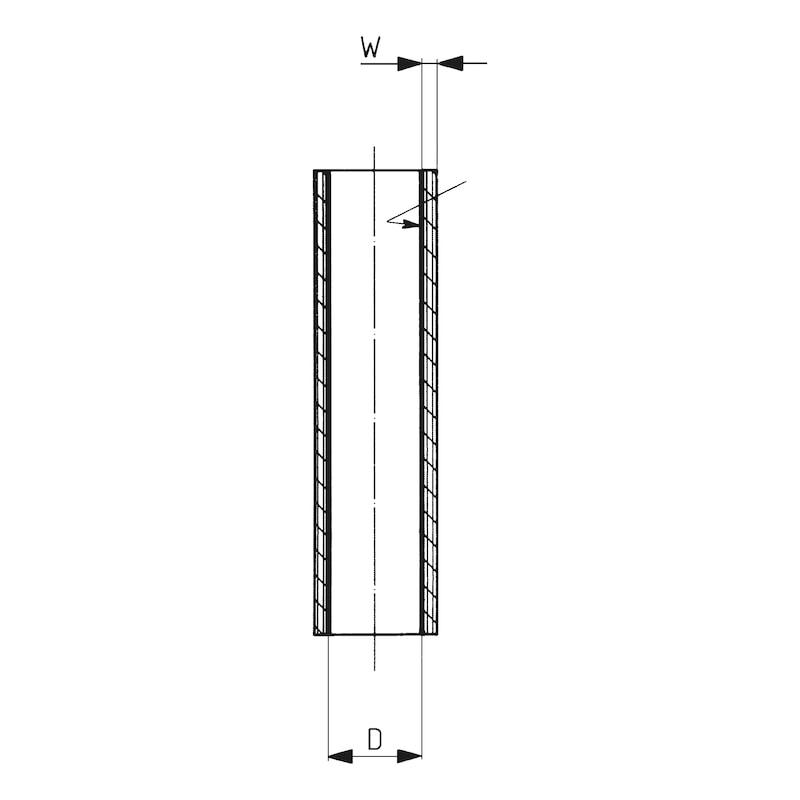 Wärmeschrumpfschlauch mittelwandig 0,6/1 kV - 2