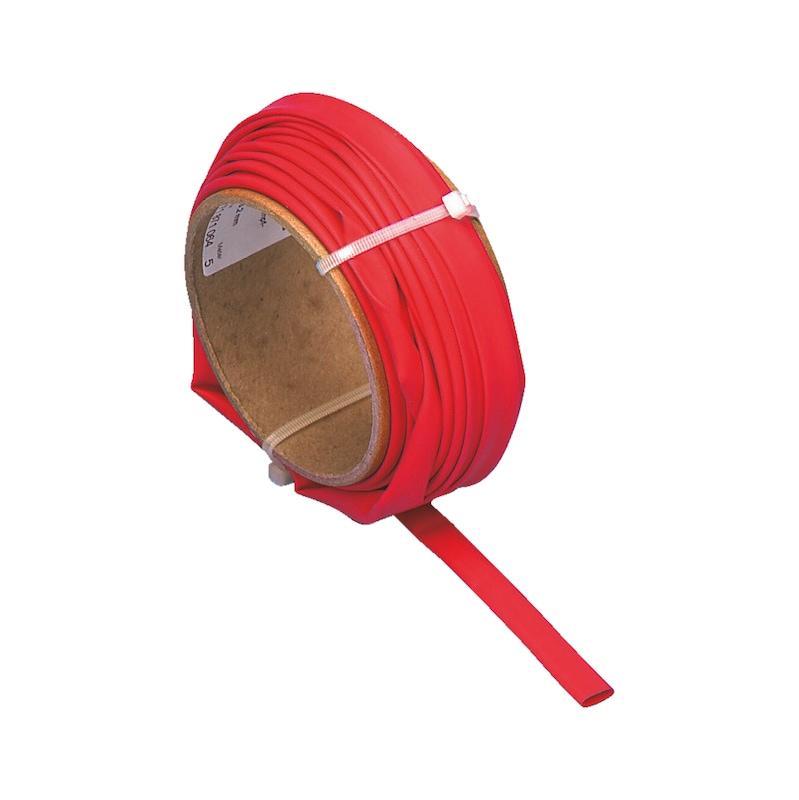 Wärmeschrumpfschlauch dünnwandig - WSHRMPFSCHL-ROT-(12,7-6,4MM)