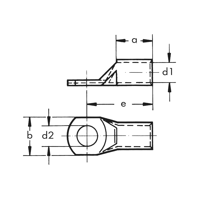 Terminal de cabo tubular - 2