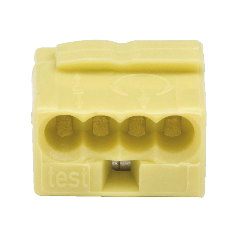 Wago Micro-Verbindungsdosenklemme schraublos - 1