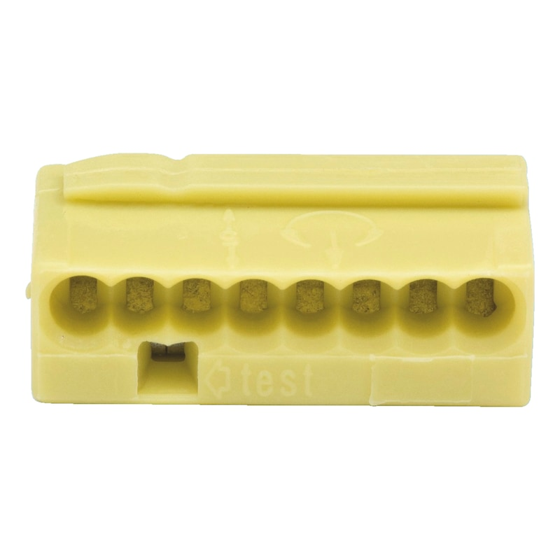Bezskrutkové spojovacie krabicové mikrosvorky - KONEKTOR KABLOVY ZLTA 8X 0,6-0,8MM