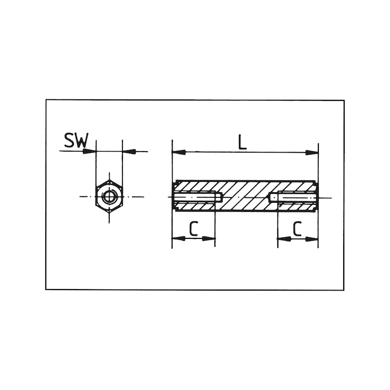 Plastic spacer bolts - 2