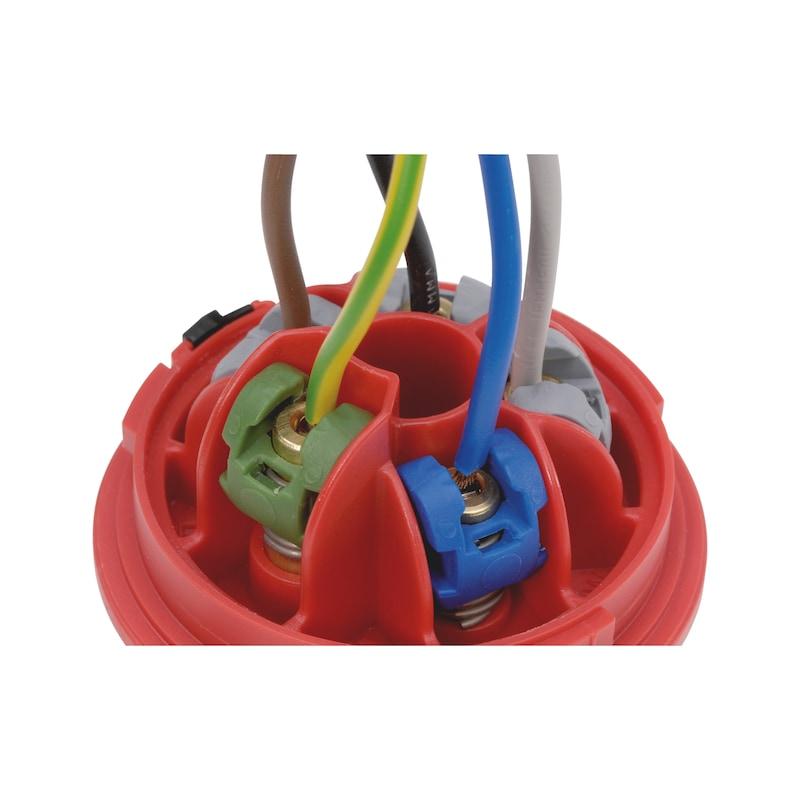ELMO<SUP>® </SUP>CEE-Stecker 400 V, 6 H - 5