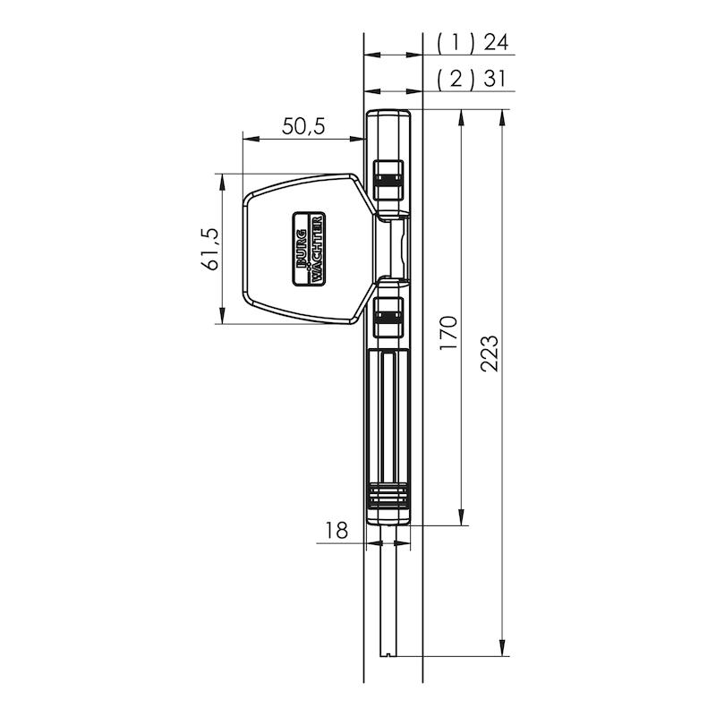 Fenster- und Türsicherung Winsafe WS 44 - 2