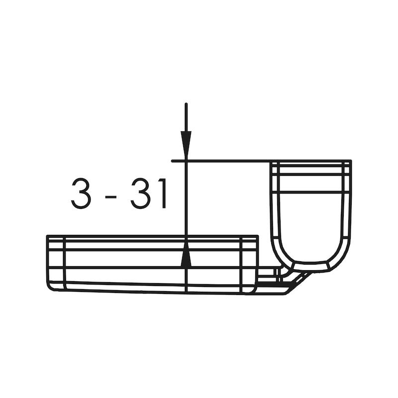 Fenster- und Türsicherung Winsafe WS 44 - 3