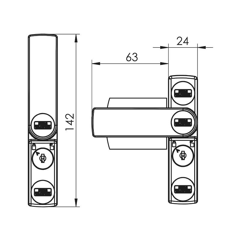 Fenster- und Türsicherung Winsafe WS 11 - 2