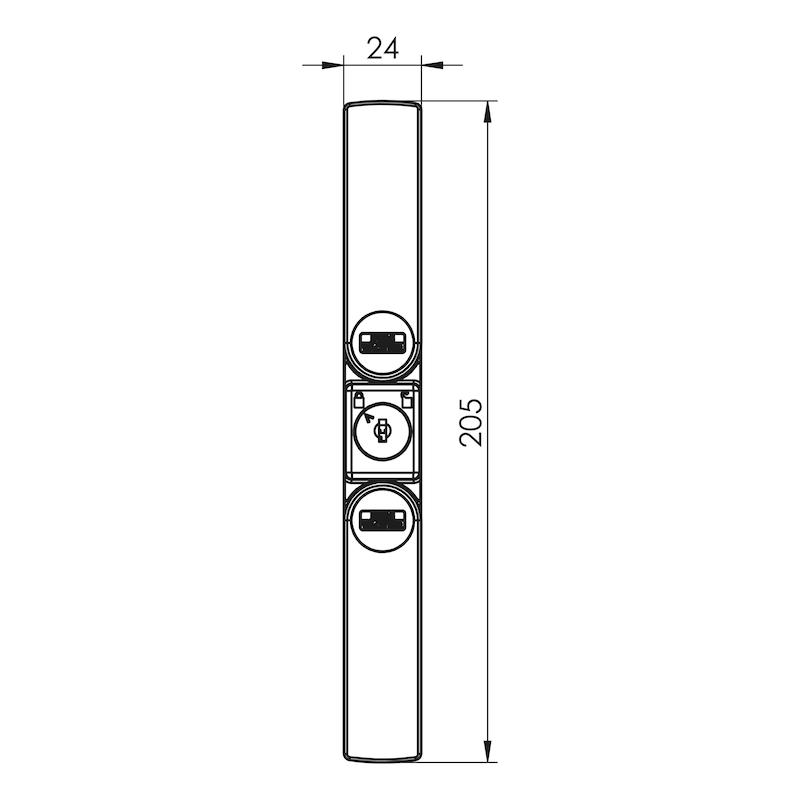 Fenster- und Türsicherung Winsafe WS 22 - 2