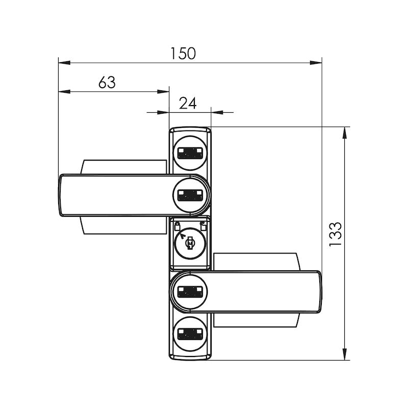 Fenster- und Türsicherung Winsafe WS 22 - 3
