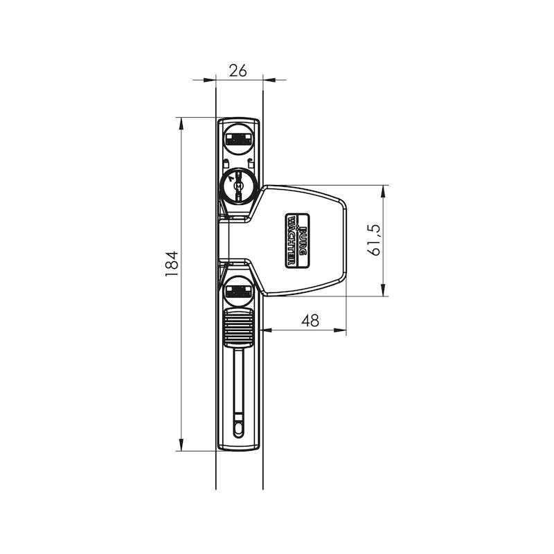 Fenster- und Türsicherung WS 33 - 2