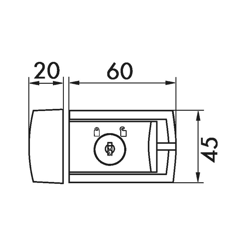 Fenster- und Türsicherung Winsafe WZ 60 - 2