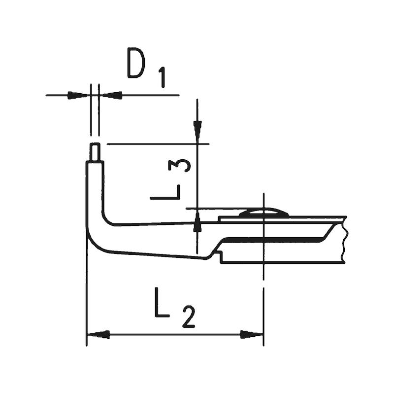 Alicate para freios Tipo B - ALICATE FREIOS PARA EXTERIORES ANG.