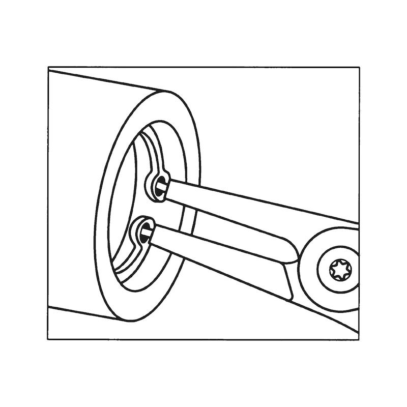 Pince à circlip TypeC - 5