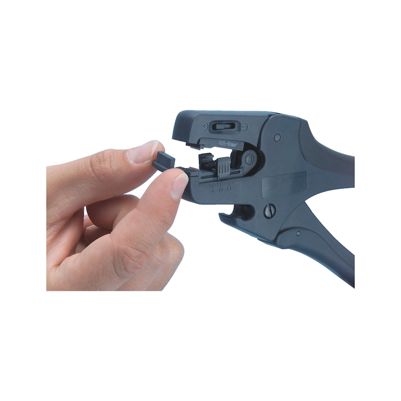 Wire stripping pliers - 2