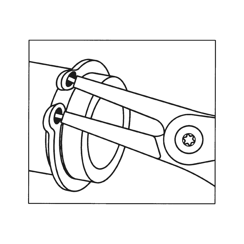 Alicate para freios Tipo A - ALICATE FREIOS PARA EXTERIORES DTO.