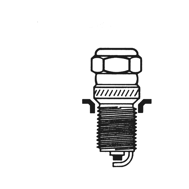 Втулка резьбовая для свечей зажигания автомобиля TIME-SERT<SUP>®</SUP> - ВТУЛКА-РЕЗЬБ-TS-СТ/МЕД-М14Х1.25Х15.0