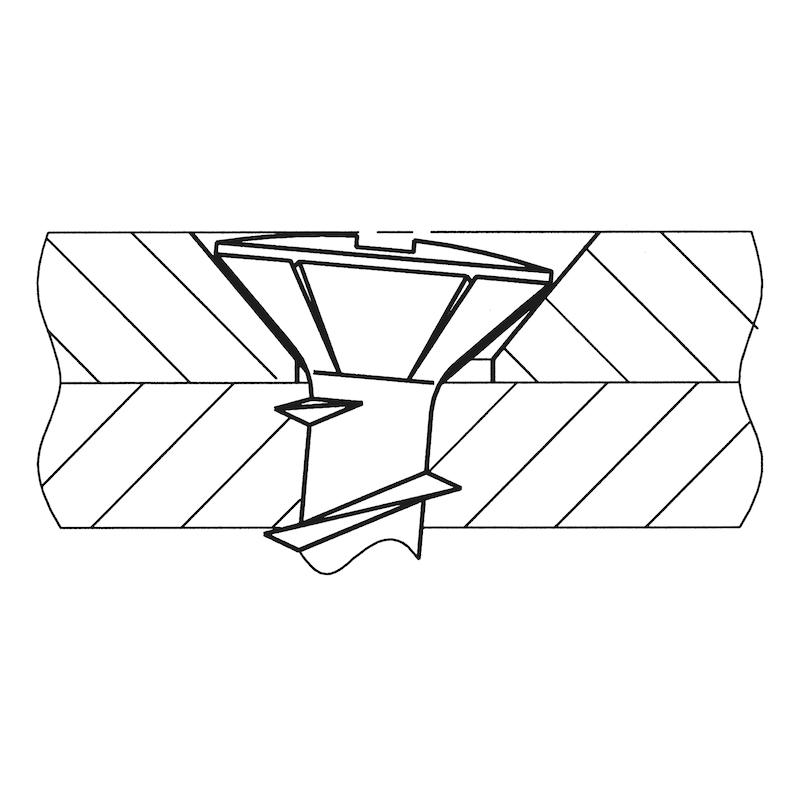 ASSY<SUP>®</SUP> FBS Fensterbau - und Beschlagsschraube - 6