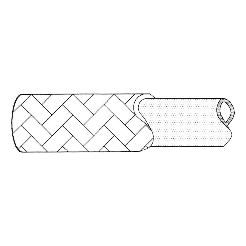 Conduite flexible pour réparation, NBR/textile - 2