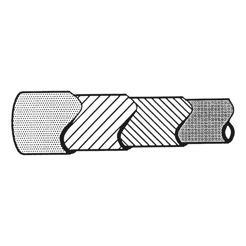 Reparaturschlauchleitung FPM/ECO/AR/ECO - KFTSTSCHL-3E-(FPM-ECO)-SCHW-D4,5X10