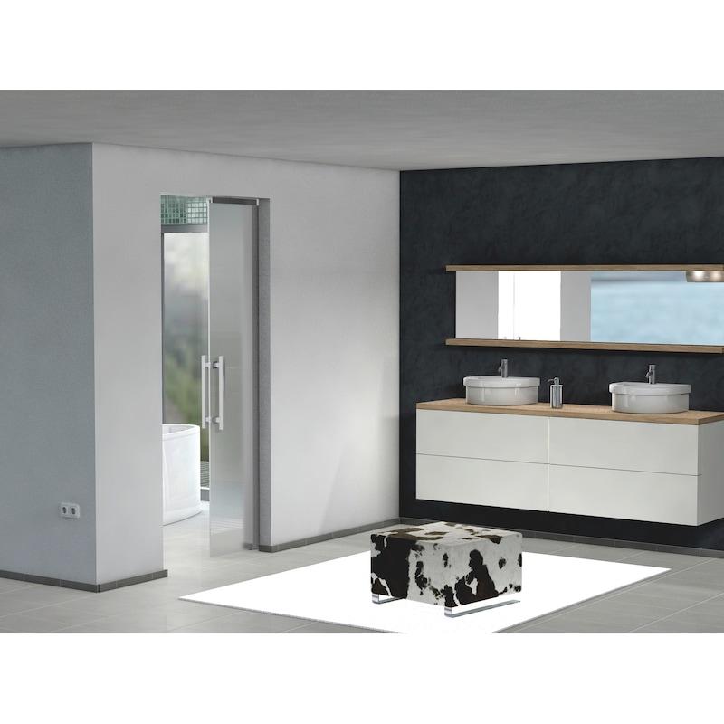 Zimmerschiebetürbeschlag-Set SCHIMOS 80-GN - 0