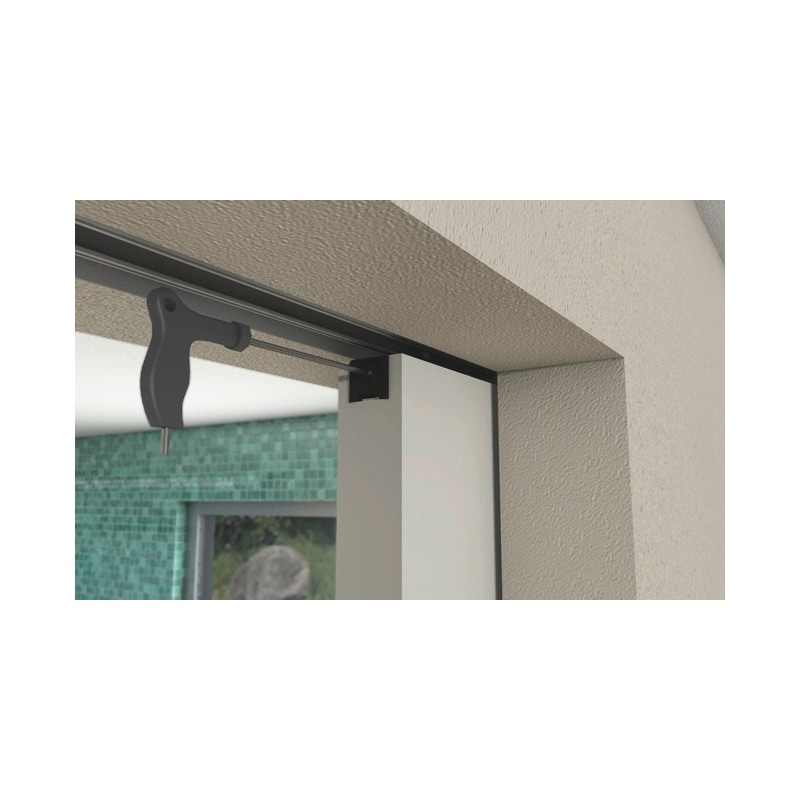 Zimmerschiebetürbeschlag-Set SCHIMOS 80-HN - 3