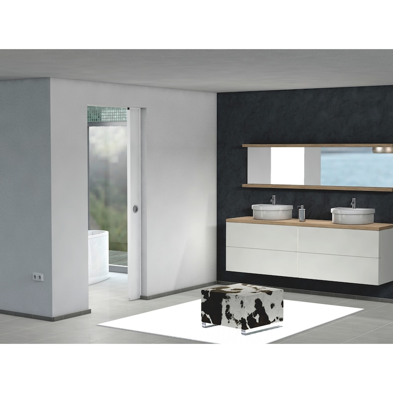 Zimmerschiebetürbeschlag-Set SCHIMOS 80-HN - 4