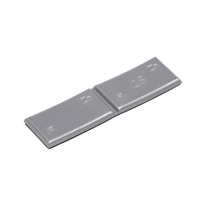 Peso autoadesivo in zinco per autovetture - 1
