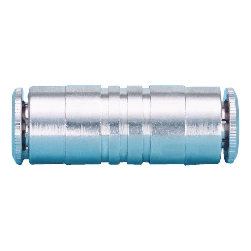Gerader Verbinder steckbar - ARM-ZSA-VSHR-GERADE VERB-STEB-D4MM