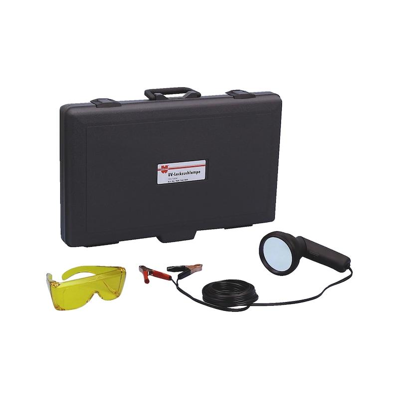 Lampe de détection de fuite aux UV 12V CC/100W - UV-LEKDETECTIELAMP 12 VOLT/100 WATT