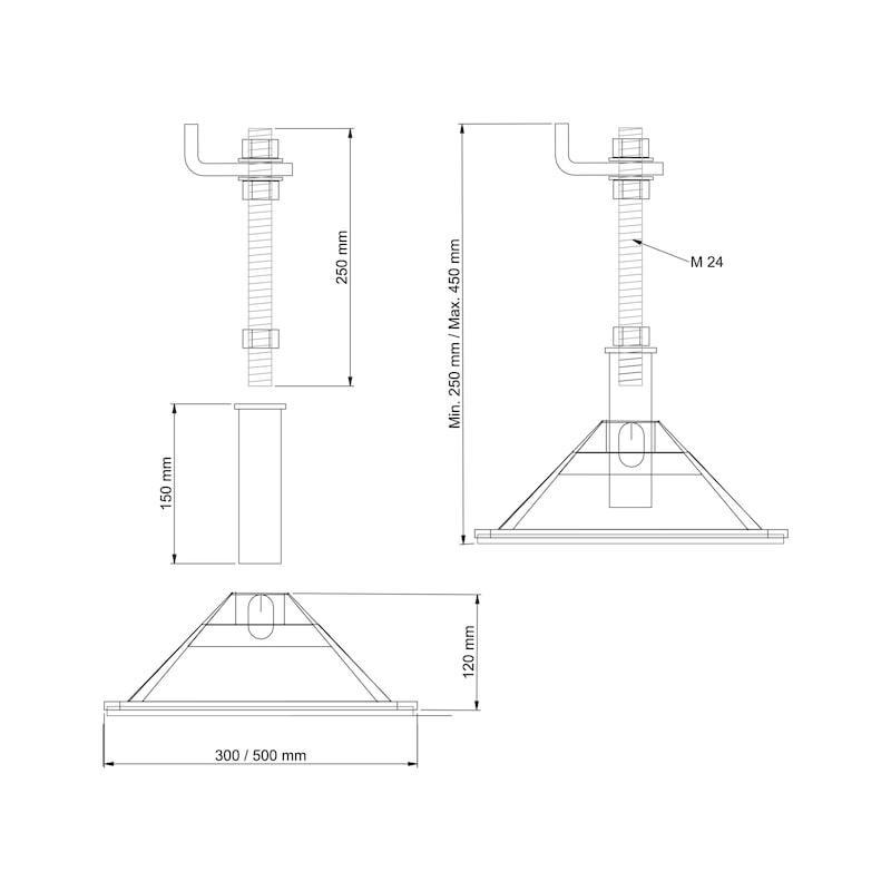 Kit per base d'appoggio - 2