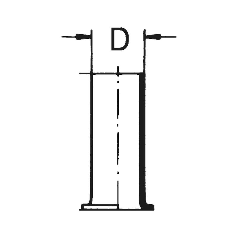Fourrure pour tube de freinage - 2