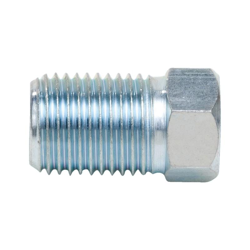 Bremsleitungsnippel Typ TX - BREMSLTGNPL-F-ROD4,75-SW10-M10X1