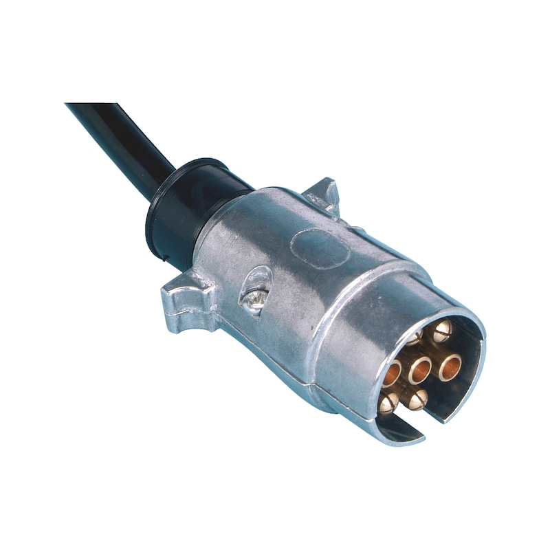 Spiral wire 7-pin 12V - ELSPRLCBL-SMALL-7PIN-12V-3M