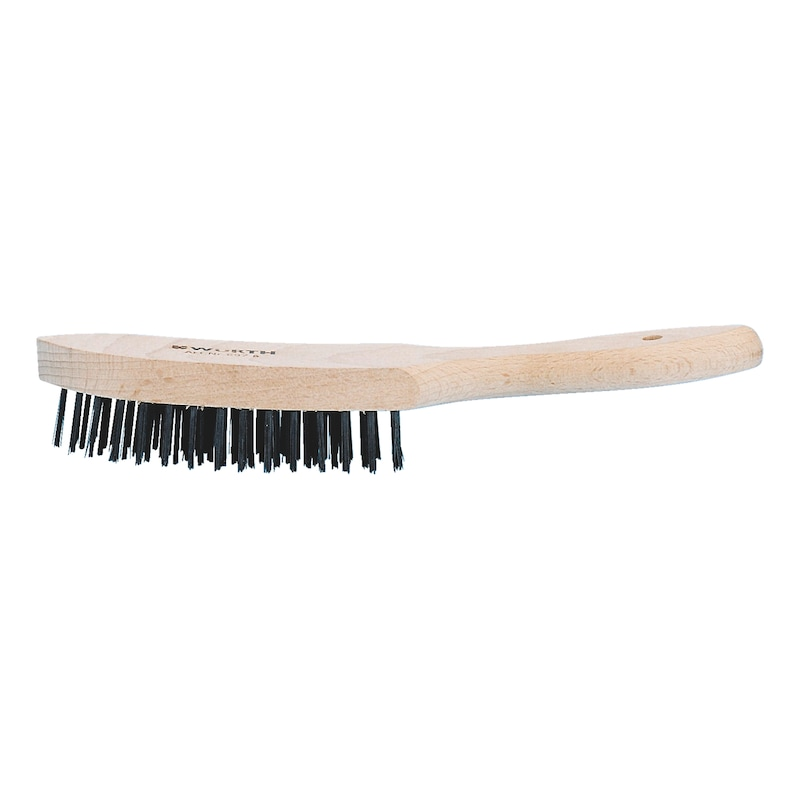 Wire brush - WREBRSH-A2-CORRUGATED-4ROWS