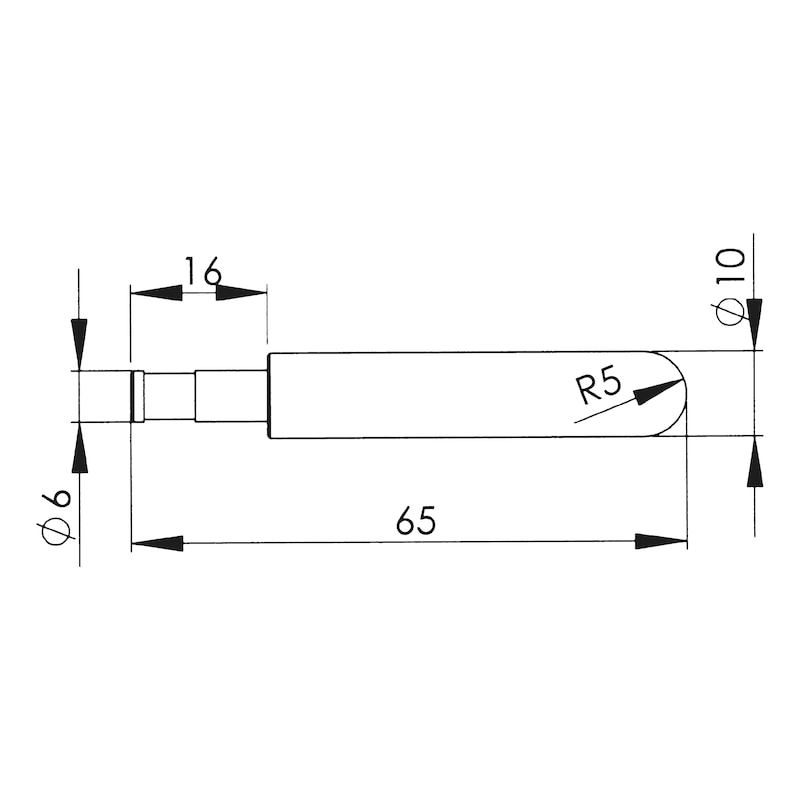 ピンプーラー銅電極 - 溶接トリガー替え端子