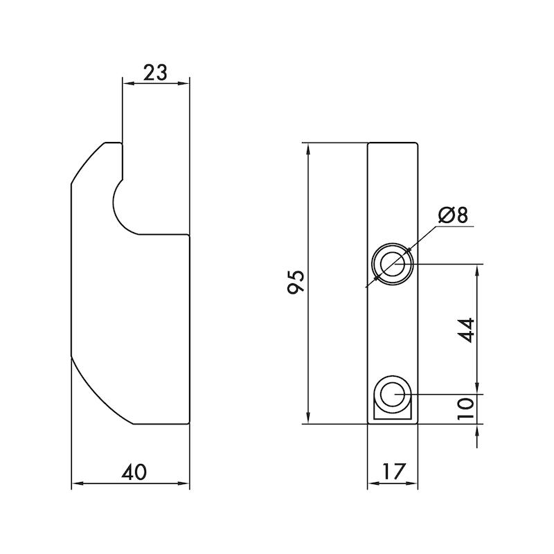 Teleskopriegel-Mittelsockel - 3